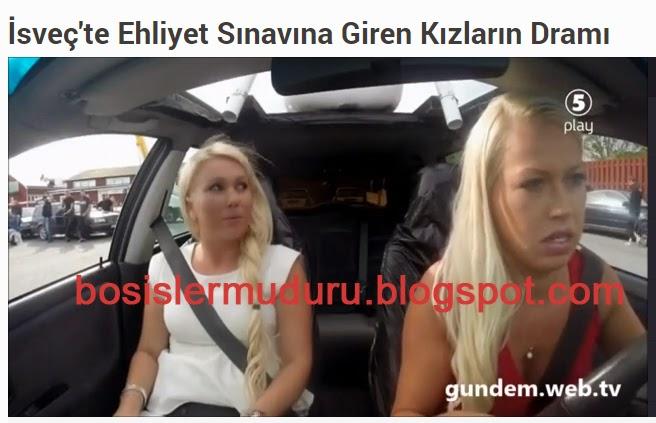 isveçte ehilyet sınavına giren kızların dramı videosu