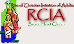 2014 - 2015 RCIA Class every Tuesday, 7:00 p.m. at the Sacred Heart Conference Room