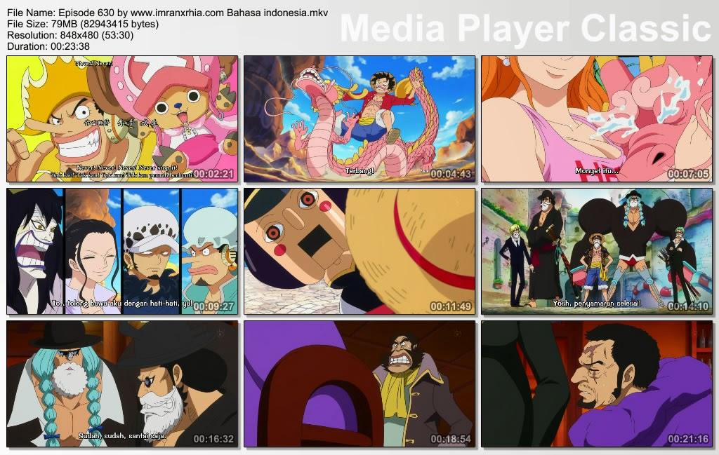 Download Film One Piece Episode 630 (Petualangan! Kerajaan Cinta dan Gairah, Dressrosa!) Bahasa Indonesia