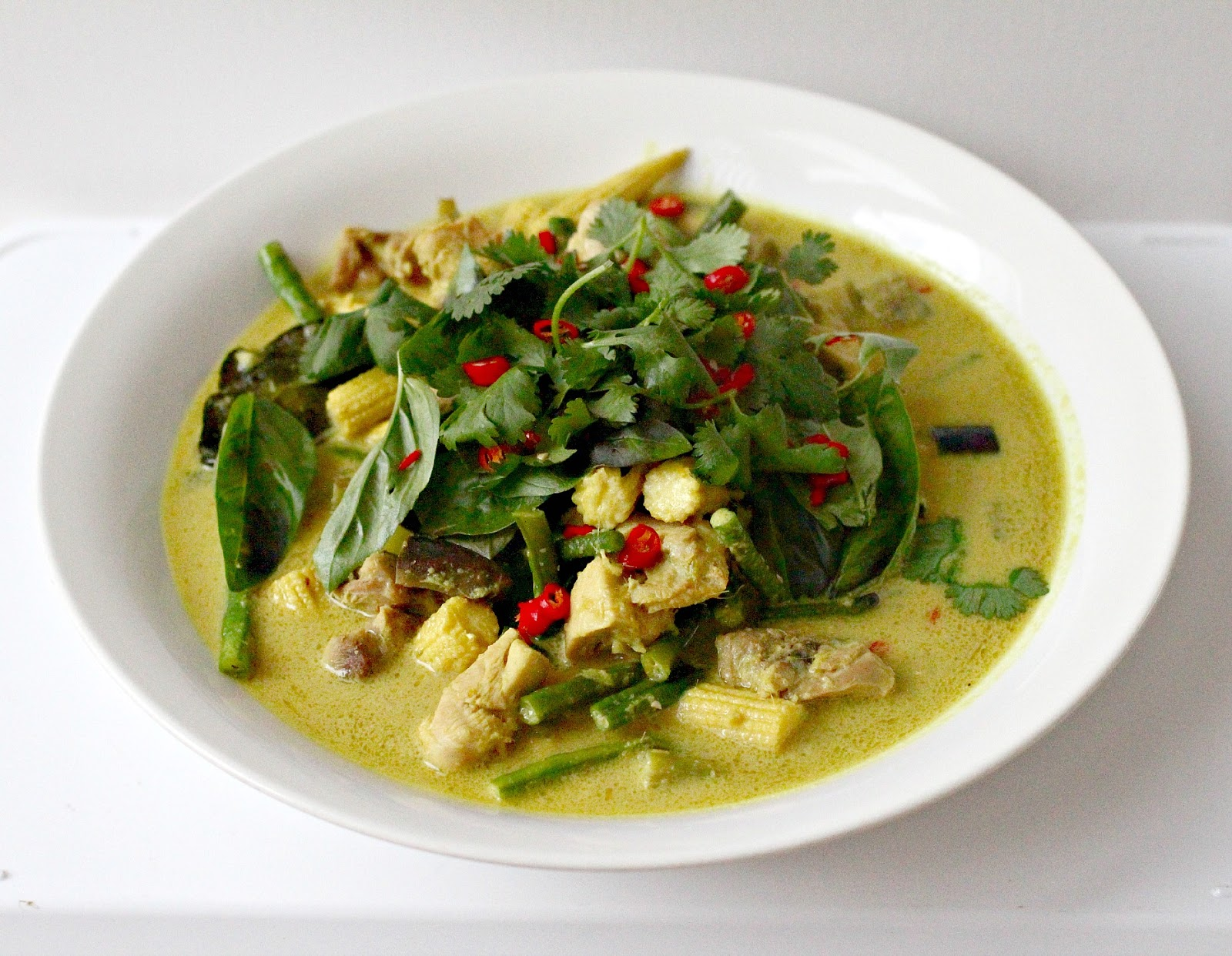 Milk and Honey: Thai Green Chicken Curry
