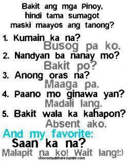 Funny Tagalog Jokes Hindi Puede Simsimi Answer