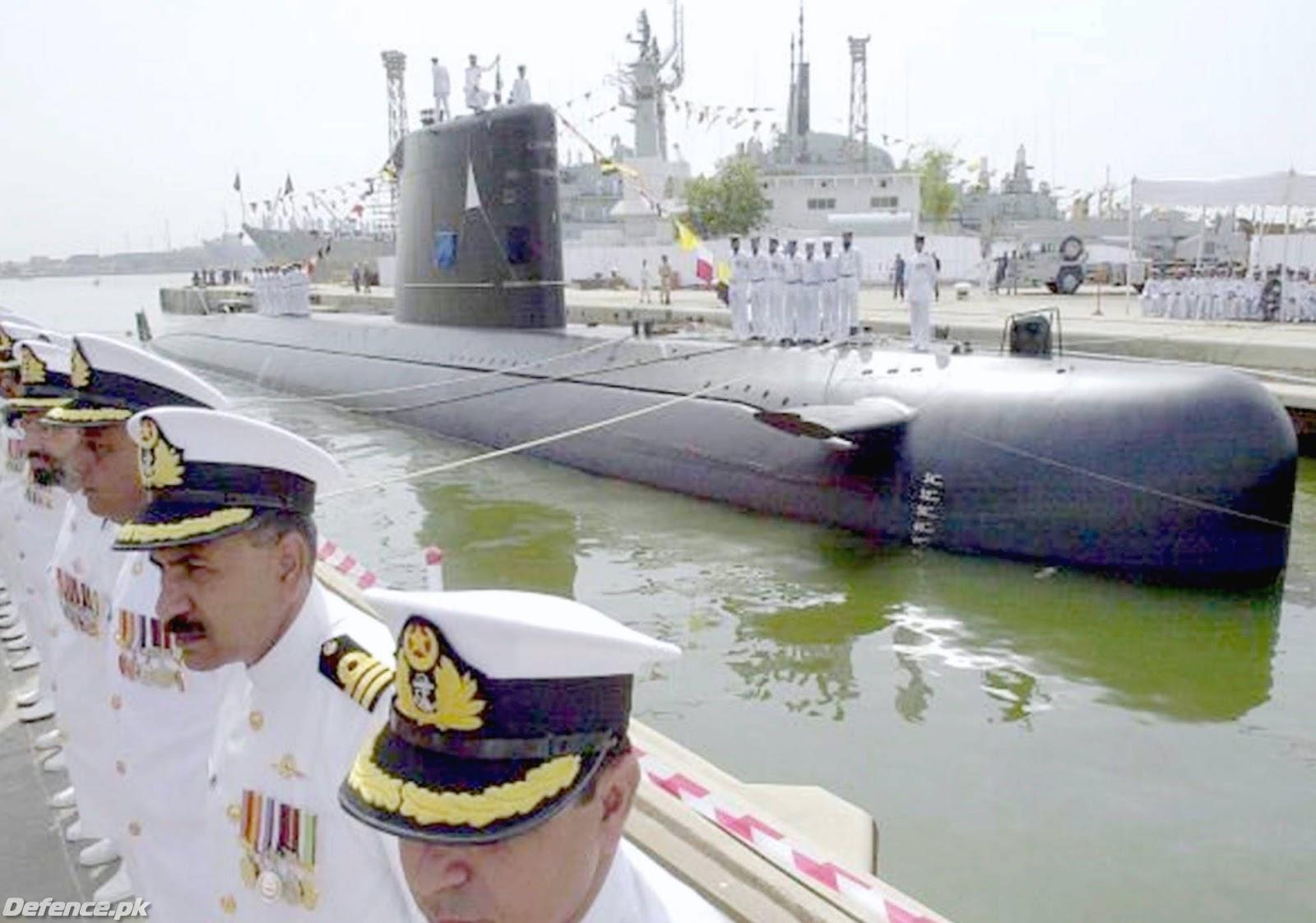 пакистан подводная лодка