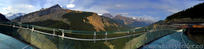 The Glacier Skywalk - The Columbia Icefield - The Canadian Rockies