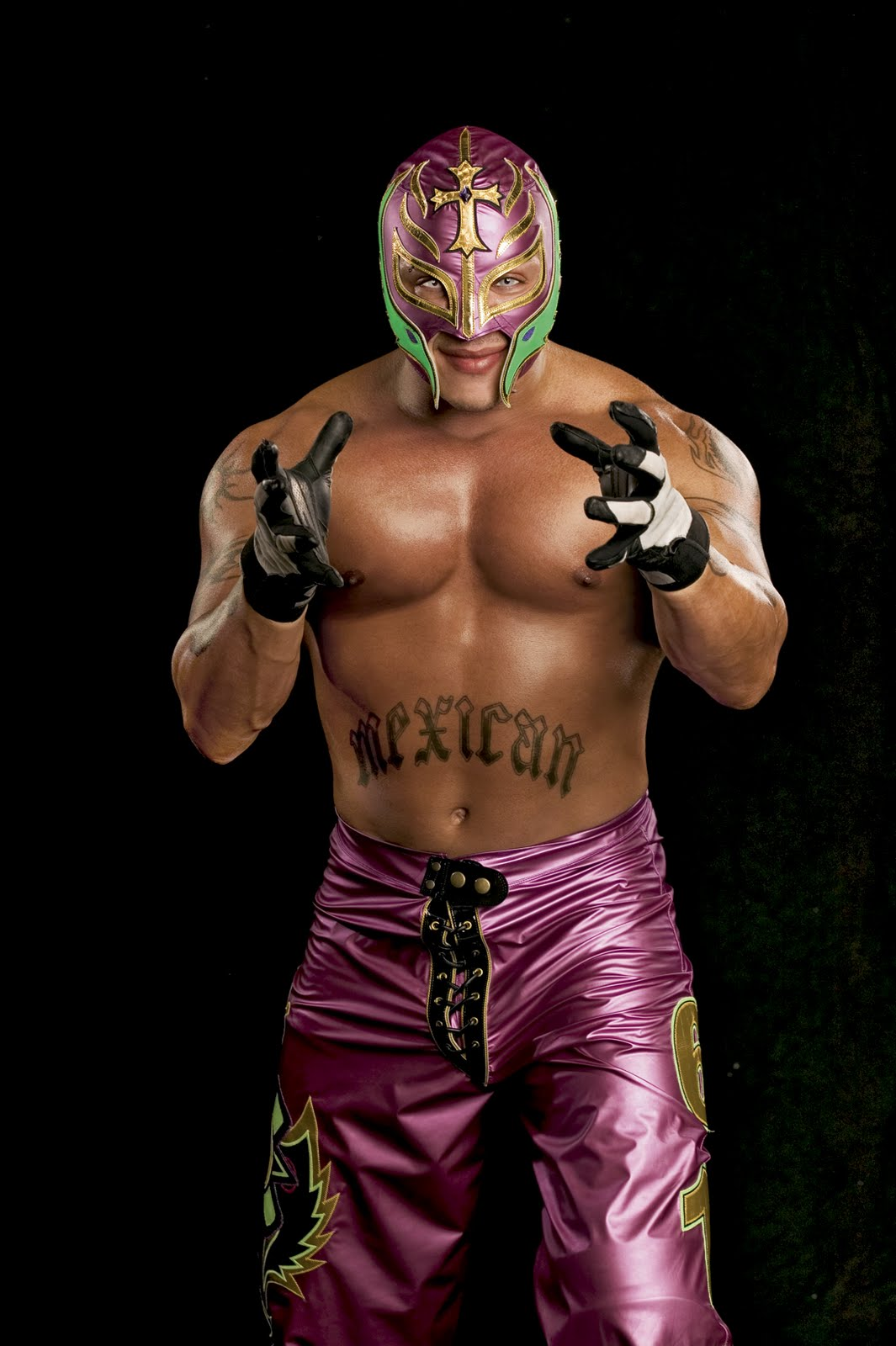 Sports celebrity rey mysterio wrestling player for Rey mysterio tattoos