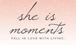 She Is Moments Blog Button