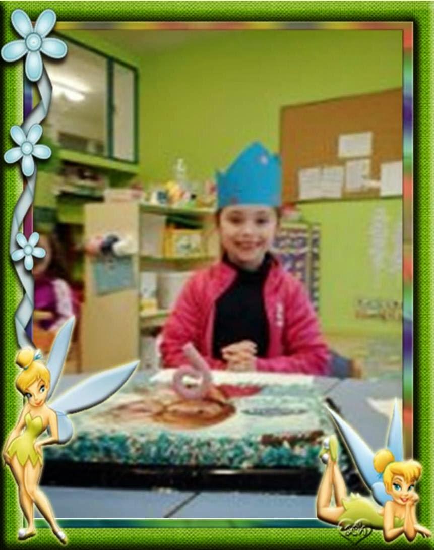 Paola ha cumplido 6 años.