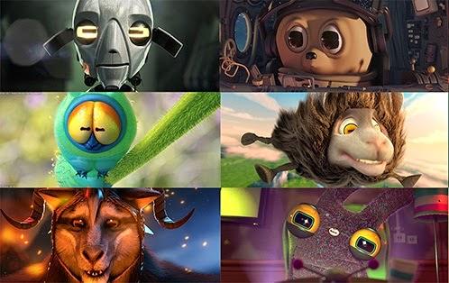 Beberapa karakter film Gooseberry
