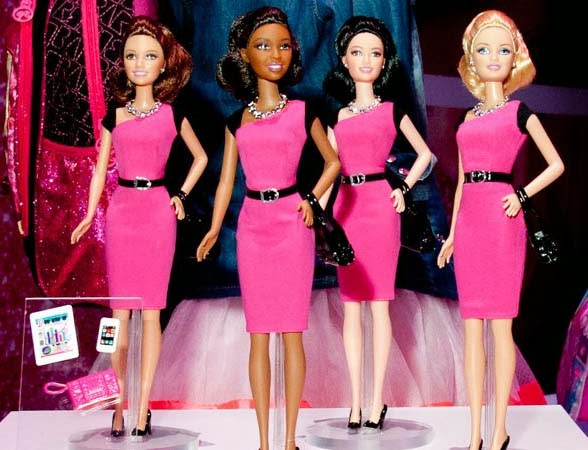 Black Barbie Entrepreneur Doll