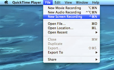how to show cursour on quicktime screen record