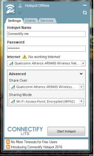 Cara Berbagi Wifi Gratis Menggunkan PC/Laptop