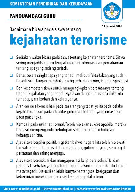 Panduan Guru: Bagaimana Berbicara Kepada Siswa tentang Kejahatan Terorisme