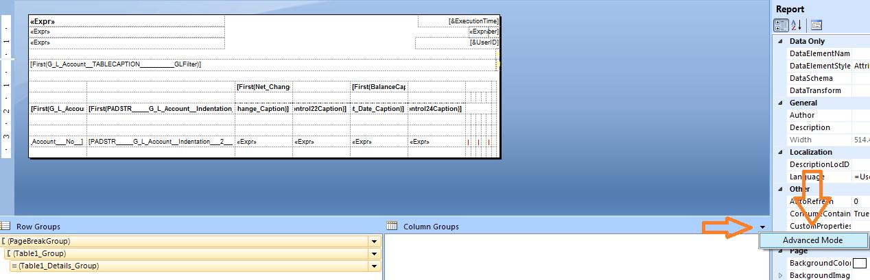 Saurav dhyani microsoft dynamics navision nav 2013 r2 for Table header
