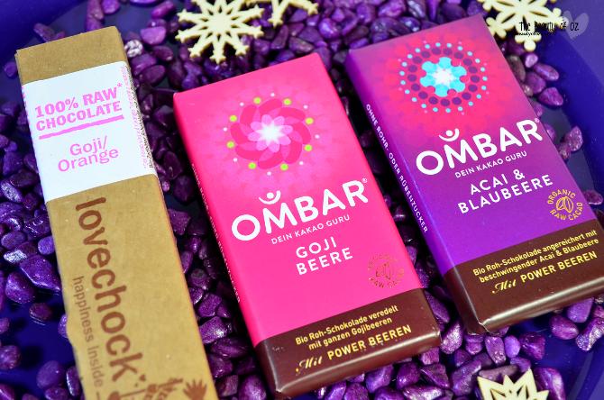 nu3 Blogger-Wichteln 2014 - Geschenkset Schokoladengenuss OMBAR & lovechoc