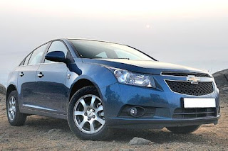 new chevrolet cruze facelift current version