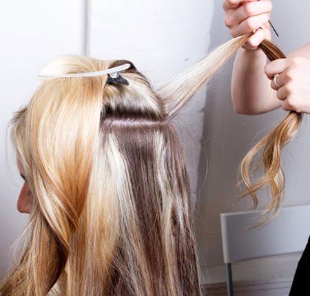 Косата е разделена на 2 части