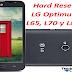 Desbloquear \ Hard Reset LG Optimus L65, L70 y L80.