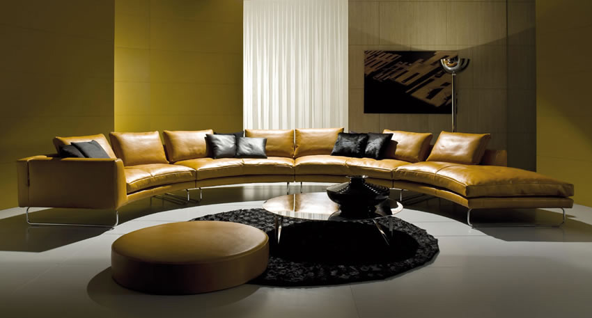 15 dise os de sof s magn ficos de lujo para living room for Edit 03 sofa