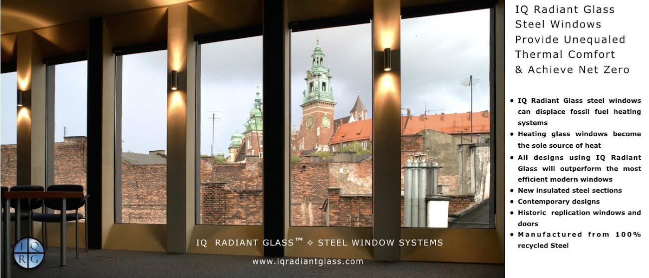 Steel Windows ✧ IQ Radiant Glass