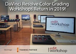 DaVinci Resolve Color Grading Workshops