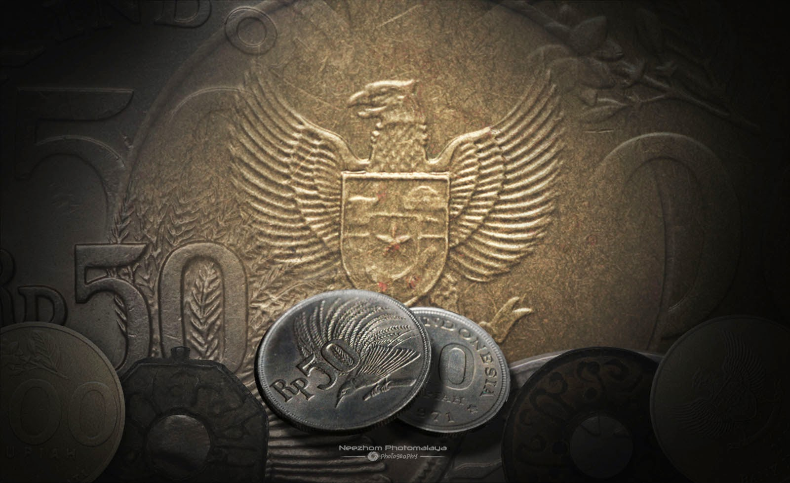 Indonesia coins collection cover