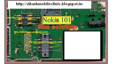 Nokia 101 Insert Sim Card Jumper Solution | May I Help Y ?