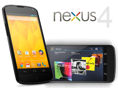 LG NEXUS 4 FULL SPECIFICATIONS