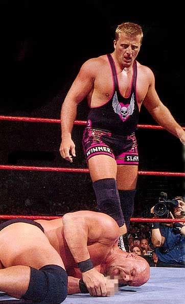 WWF Raw 1997 Rattlesnake Blue Blazer Piledriver Intercontinental