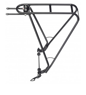 Portabultos eje bicicleta