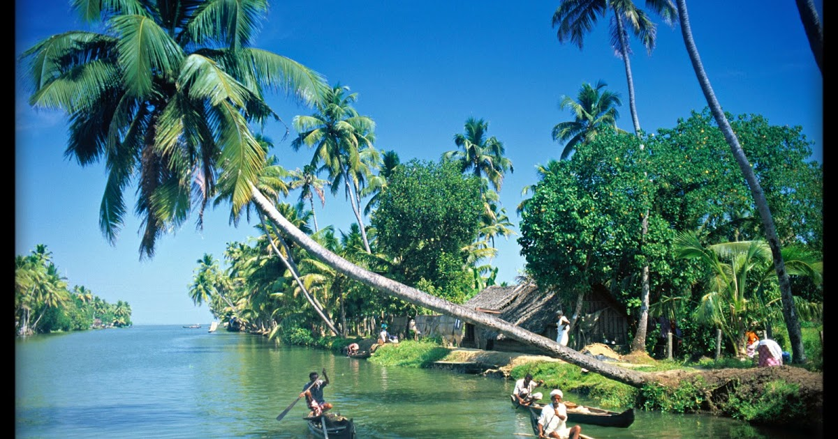 newest hd pics: Gallery for Kerala-backwaters-wallpapers-top-tourist ...