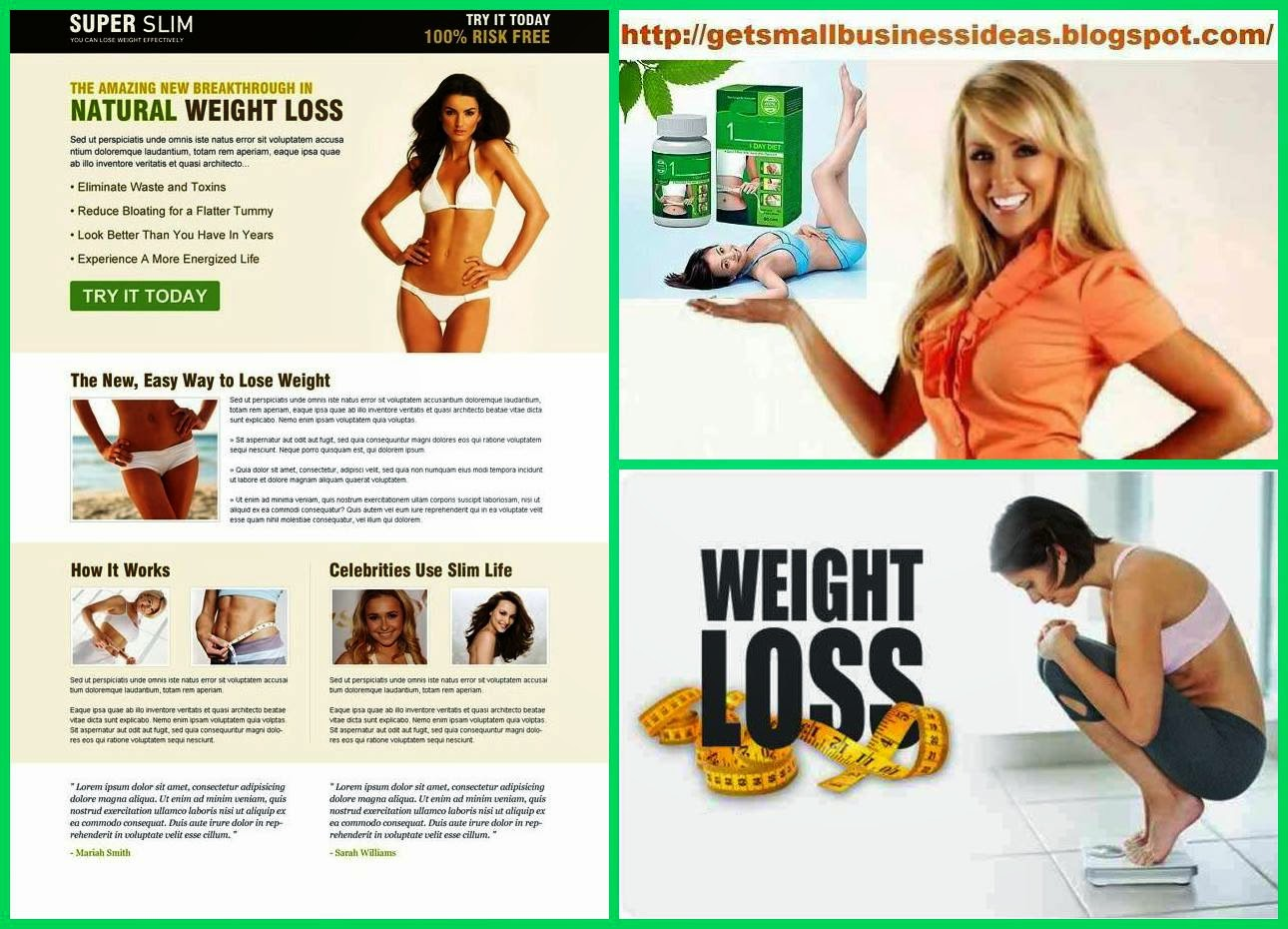 Weight Loss Business Ideas