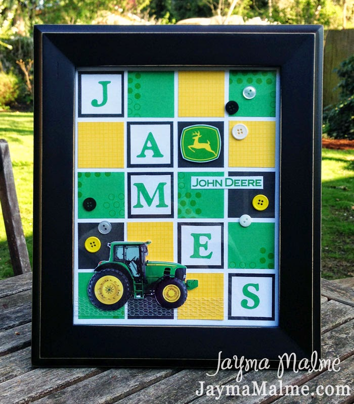 Playing with Paper: Scrapbooks, Cards & DIY: John Deere Tractor ...