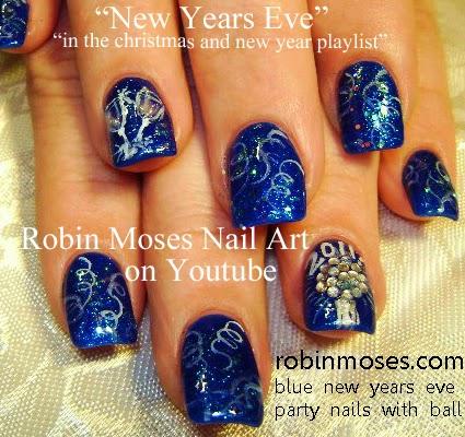 robin moses nail art december 2014