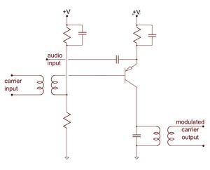 transistor modulation circuit