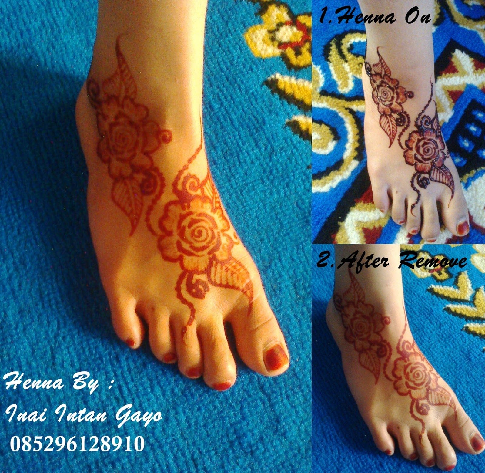 Inai Intan Gayo Design Henna Inai Intan Gayo