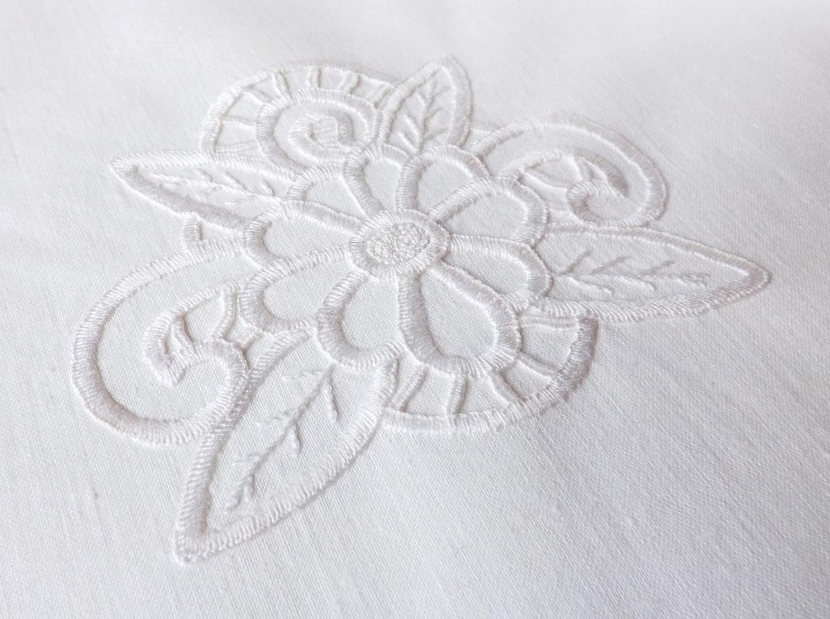 Rishelie hand embroidery Palette of impression blog Ручная вышивка ришелье Блог Вся палитра впечатлений Рукодельный салон