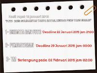 Persyaratan PJTD 2015
