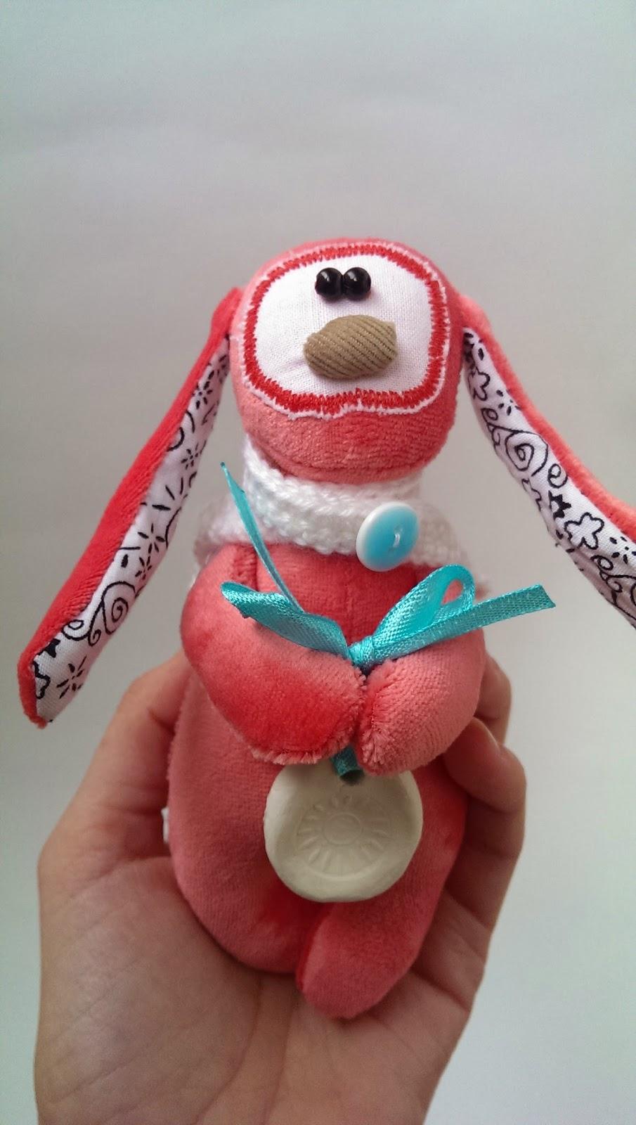 авторская игрушка заяц