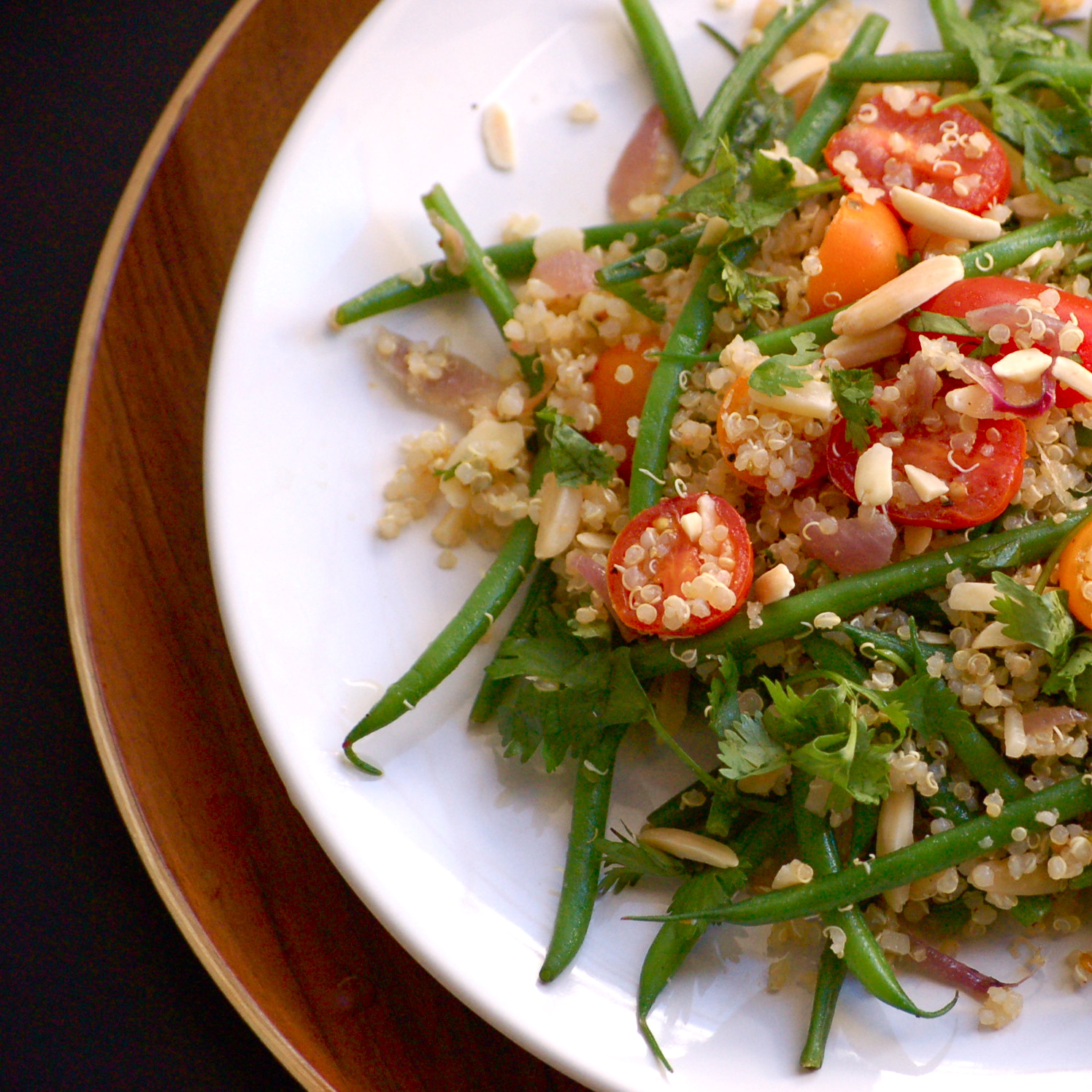 crisp haricots verts with pine nuts recipes dishmaps crisp haricots ...