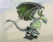 imagen del dragon huesudo