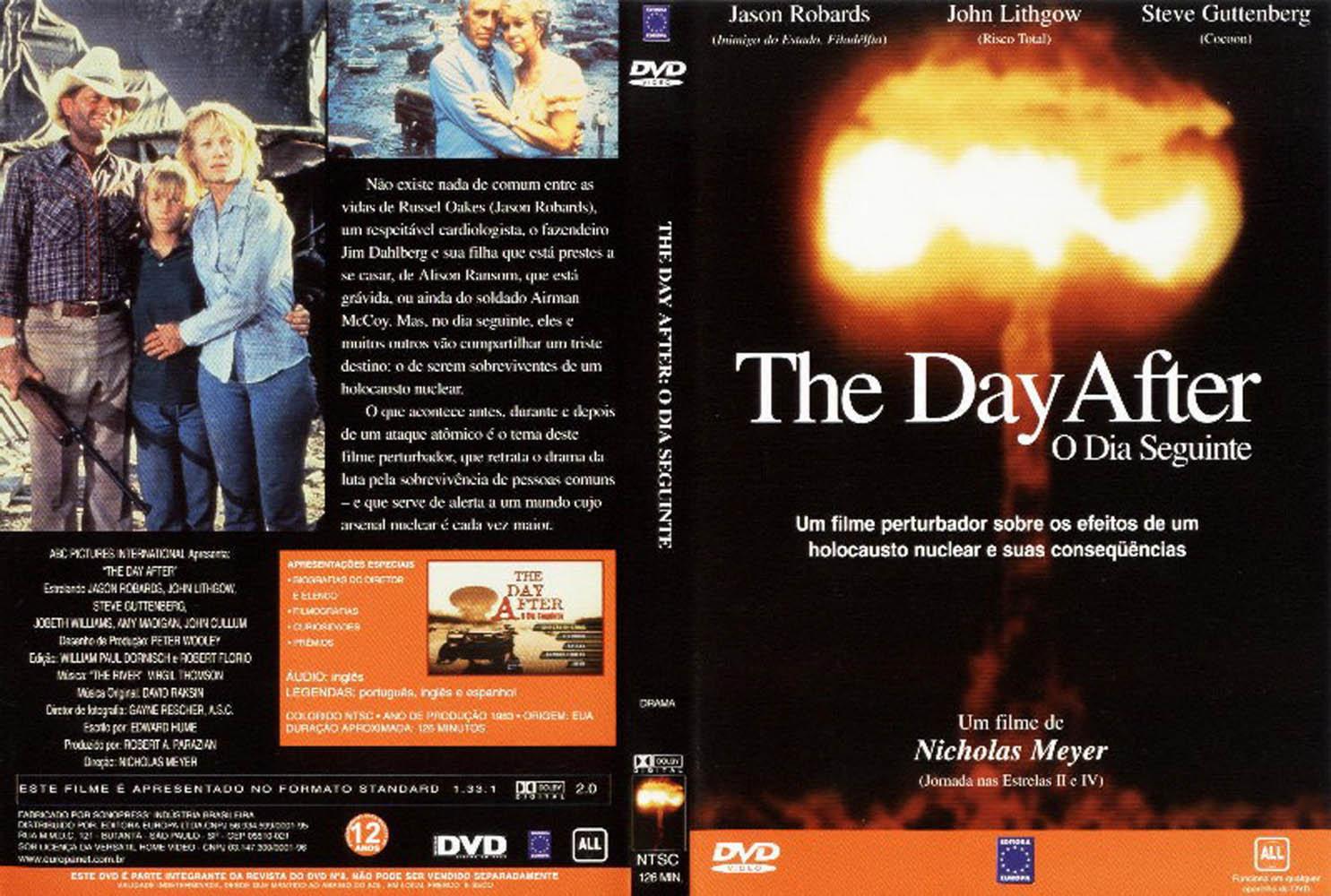 Capas Filmes Suspense: The Day After - O Dia Seguinte