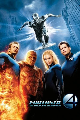 Watch Now BluRay Rip 720p Dual Audio (Hindi - English) Fantastic 4: Rise of the Silver Surfer (2007)