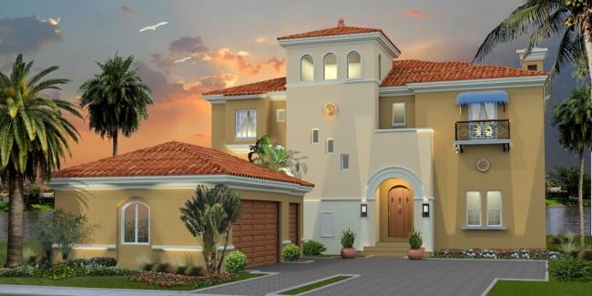 Fachadas de casas modernas render de casa moderna for Casas modernas renders