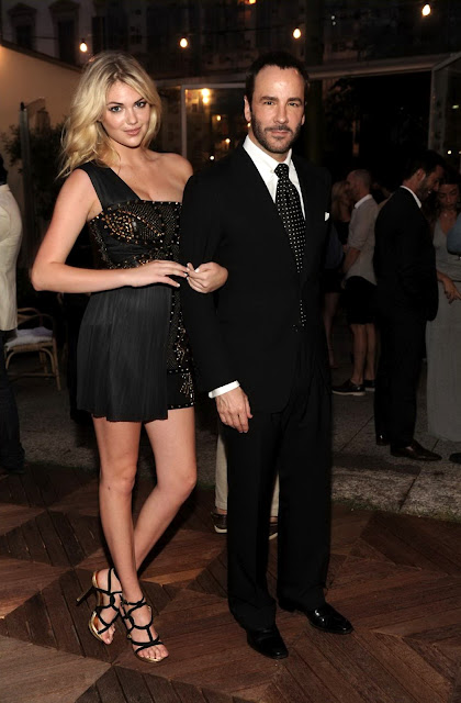 Kate Upton leggy at GQ's Party Italy June 2012