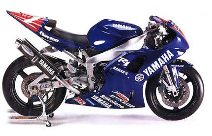 the design of Yamaha speed
