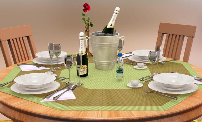 Asztalterítés szabályai - OLCSÓ Receptek -
