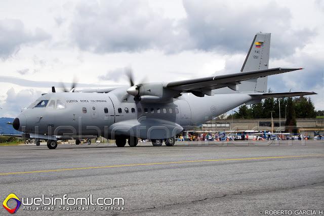Este avión un CASA CN-235 con matrícula FAC1261 de la Fuerza Aérea Colombiana se precipitó a tierra luego de reportar fallas mecánicas y congelamiento de sus turbinas, según reportes iniciales.