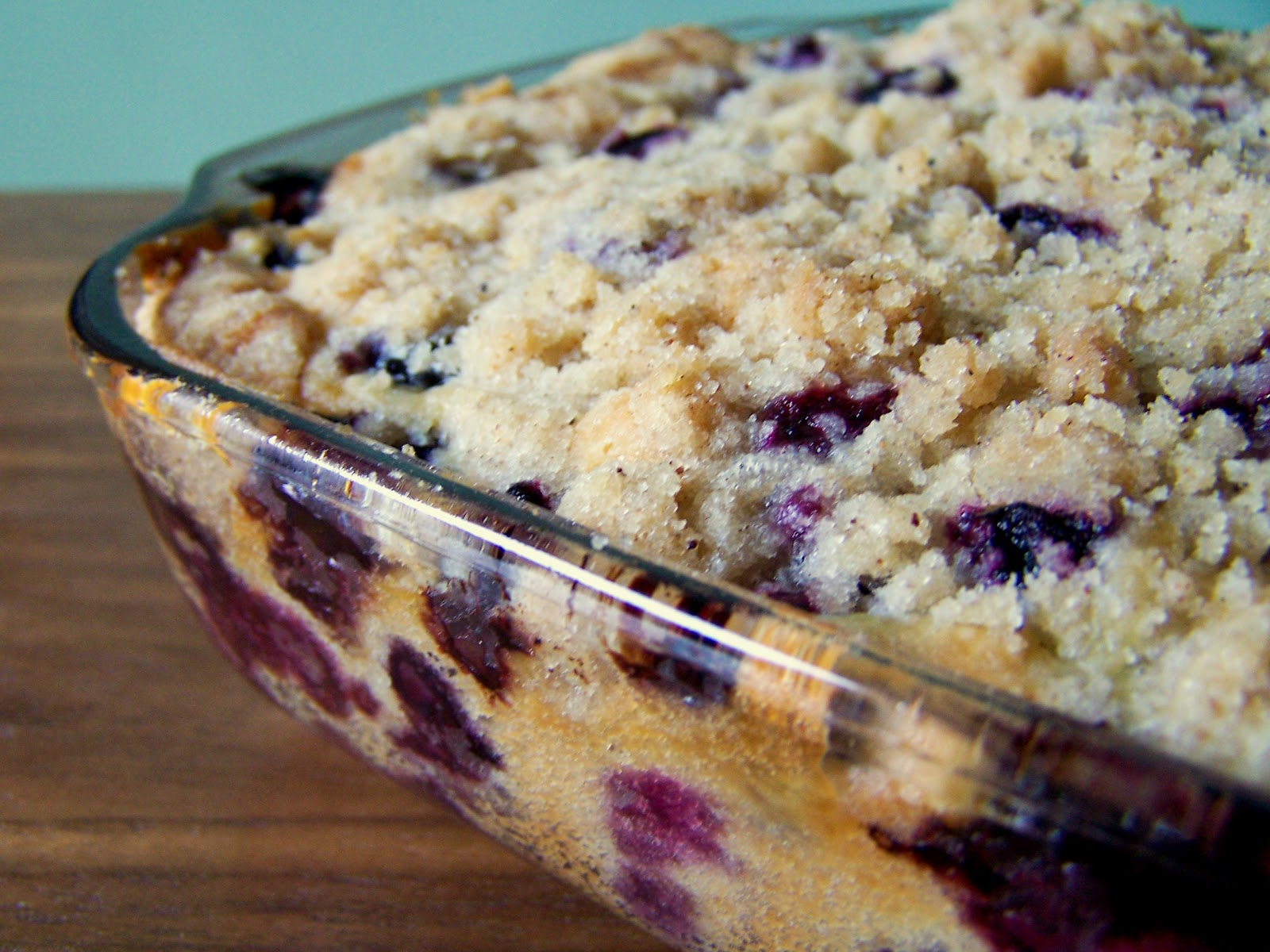 Blueberry Buckle: a true story about the best cake I ever made