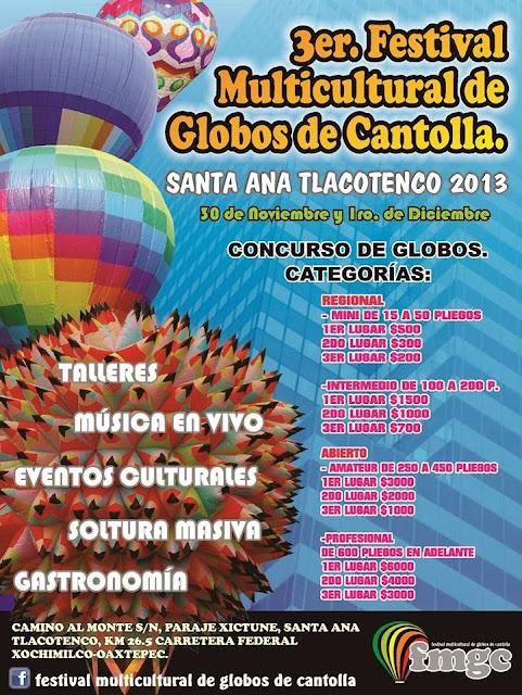 3er Festival Multicultural de Globos de Cantolla