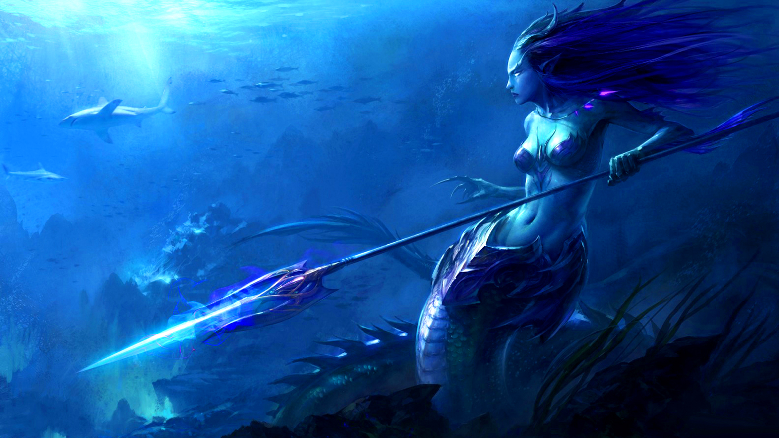 Wallpapers free wallpapers desktop backgrounds fantasy wallpapers naga sea witch world of warcraft fantasy altavistaventures Gallery