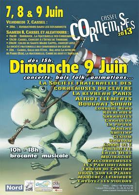 Cassel Cornemuse 2013 - Kevrenn Paris
